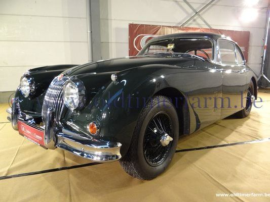 Jaguar XK 150 FHC SE Green  (1960)