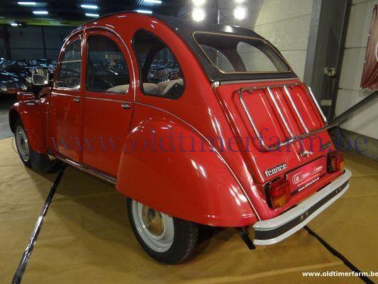 Citroën 2 CV 6  Red (1981)