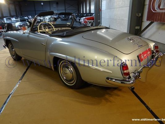 Mercedes-Benz 190SL Grey