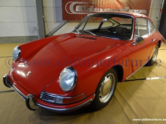 porsche 912 red 1966 vendue ch 7782. Black Bedroom Furniture Sets. Home Design Ideas