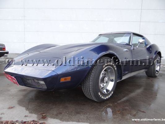 Corvette C3 Big Block  Dark Blue