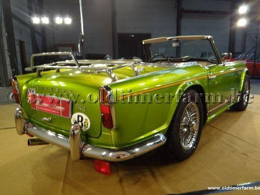 Triumph TR 4 Light Green