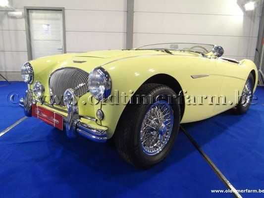 Austin  Healey  100/4 BN 2 (yellow) (1956)