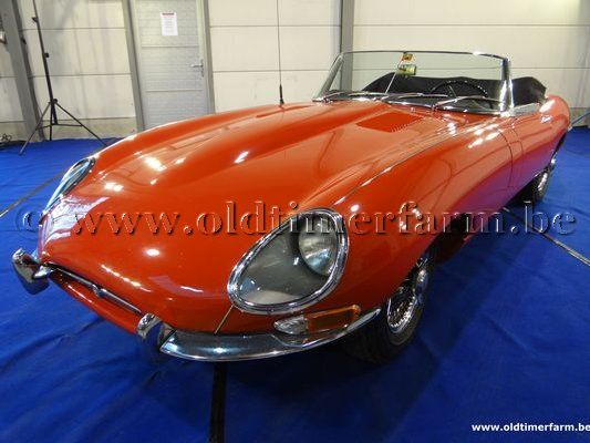 Jaguar  E-Type 3.8 Series 1 Roadster Red