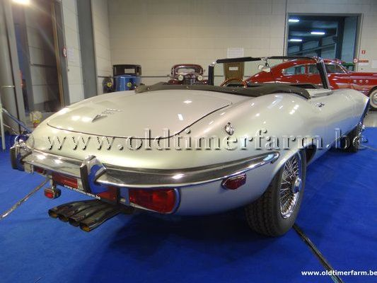 Jaguar E-Type V12 Roadster Grey  (1974)