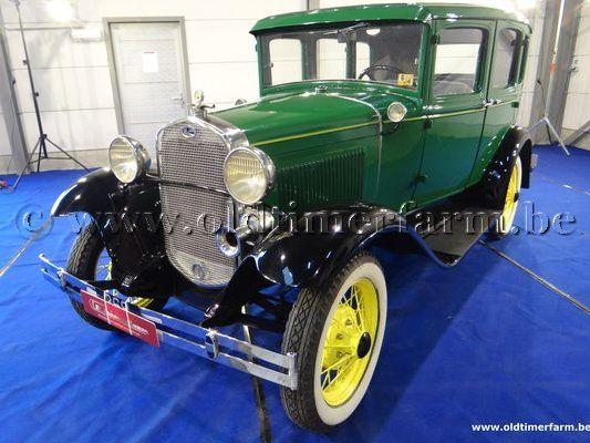 Ford A Sedan Green