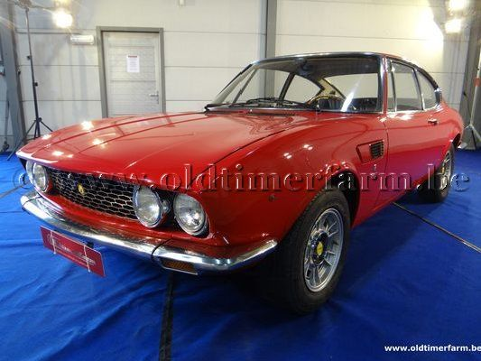 Fiat Dino Coupé 2.0L Red