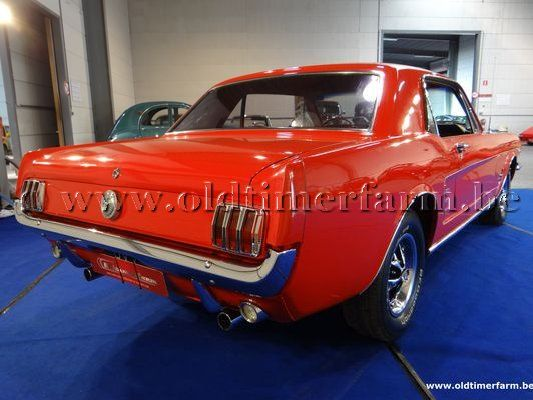 Ford  Mustang Coupé Red (1966)