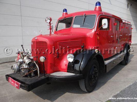 Mercedes-Benz 312 Brandweerwagen