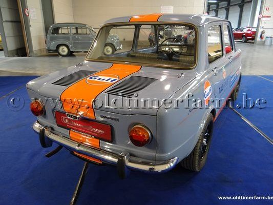 Simca  1000 Light Blue (1966)