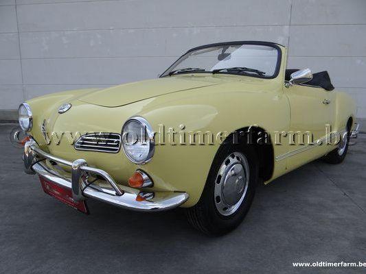 volkswagen karmann ghia cabriolet yellow 1969 verkocht. Black Bedroom Furniture Sets. Home Design Ideas