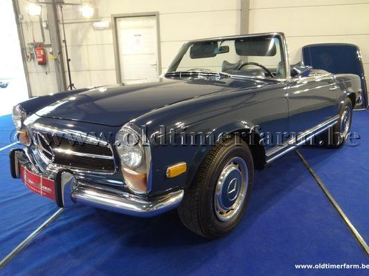 Mercedes-Benz 280SL Blue