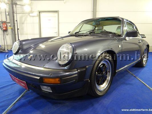 Porsche  911 carrera 3.2 coupé Blue (1984)