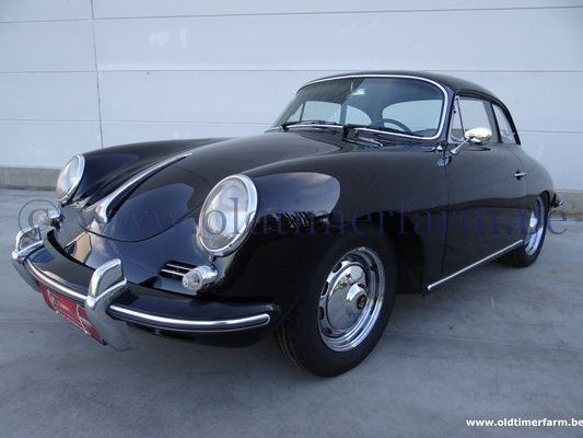 Porsche  356 B T6 Karmann Notchback Hardtop Black '62 (1962)