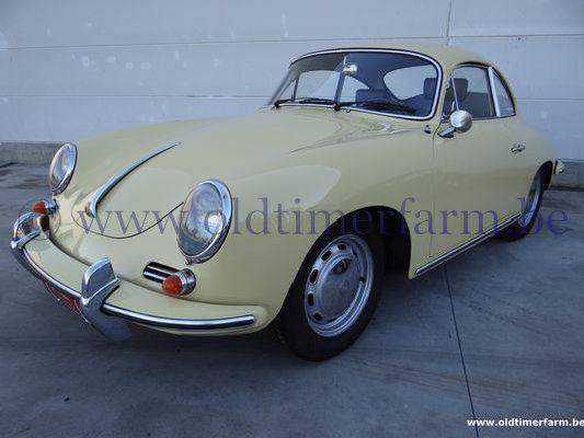 Porsche  356 C Yellow