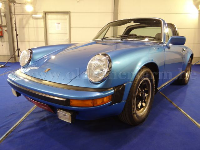 Porsche  911 SC Targa Light Blue (1978)