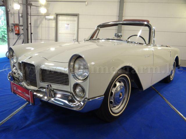 facel vega facellia cabriolet beige 1961 vendue ch 198x. Black Bedroom Furniture Sets. Home Design Ideas