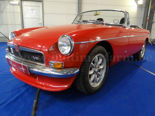 MG  B V8 Red