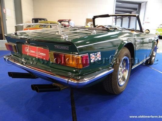 Triumph TR 6 Green '72 (1972)