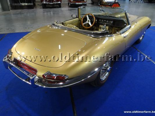 Jaguar E-Type 3.8 Series 1 Roadster Gold