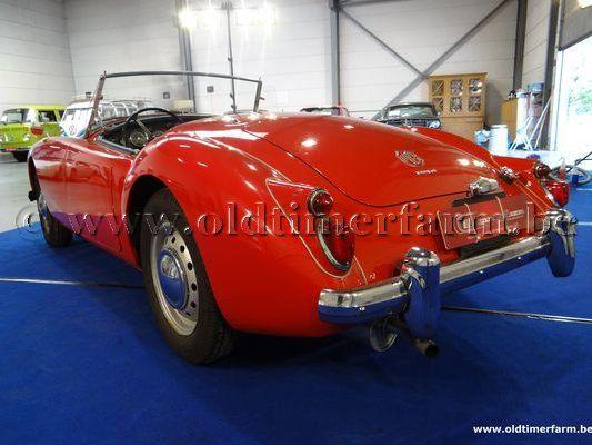MG  A 1600 MK II Red