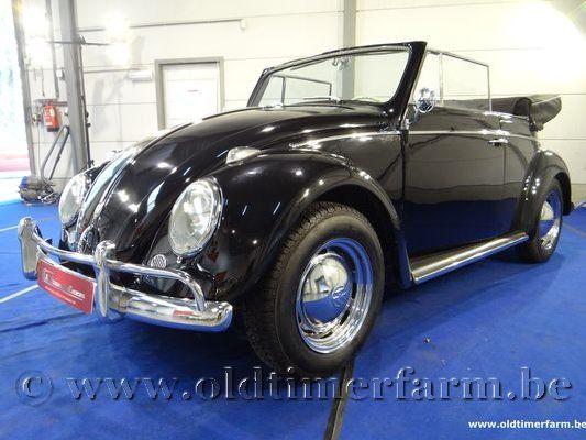 Volkswagen  Kever 1200 Cabriolet Black (1960)