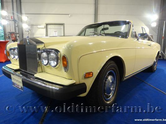 Rolls Royce Corniche Yellow '78 (1978)