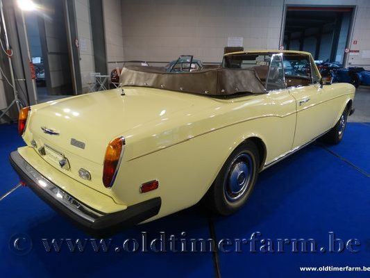 Rolls Royce Corniche Yellow