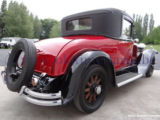 Buick  Docters Coupé Red '31 (1931)