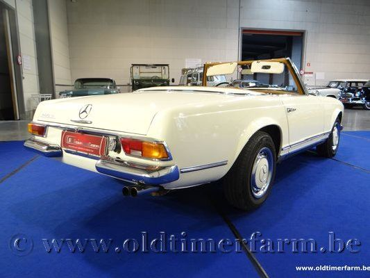 Mercedes-Benz 280SL White '69 (1969)