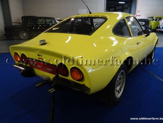Opel GT 1900 Yellow