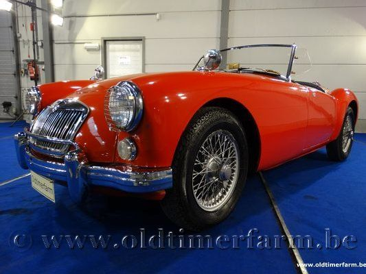 MG  A 1600 Red