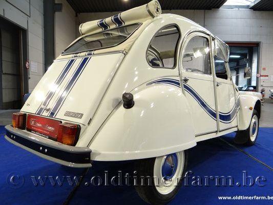 Citroën 2CV AZKA B White
