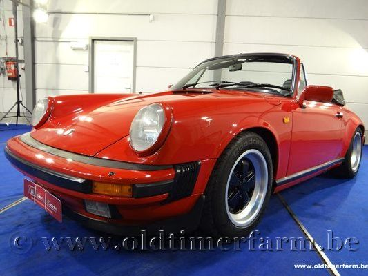 Porsche  911 3.2 Carrera Red
