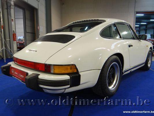 Porsche  911 3.2 G50 Coupé - Open Roof - Grand prix White