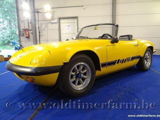 Lotus Elan S2 Yellow '65 (1965)