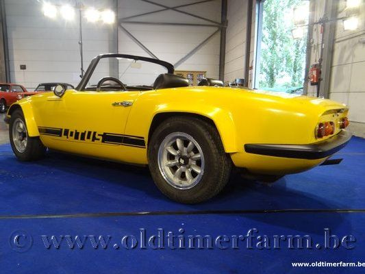 Lotus Elan S2 Yellow
