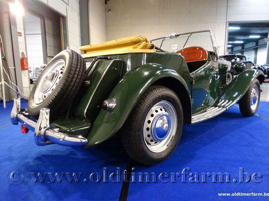 MG  TD LHD Green
