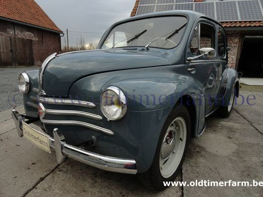 Renault   4CV Blue