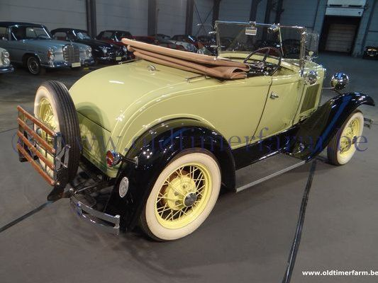 Ford A Roadster Light Green