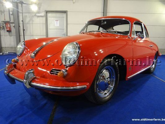 Porsche 356 B T5 Red