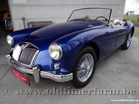 MG A 1600 Blue
