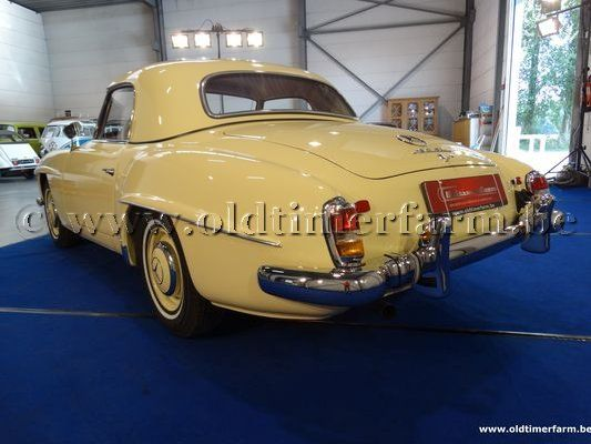 Mercedes-Benz 190SL Hardtop Coupé '59 (1959)
