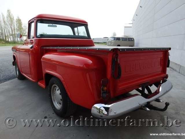 Chevrolet  Apache V8 Red '56  (1956)