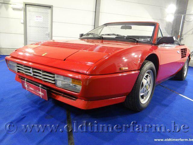 Ferrari  Mondial Cabriolet Red