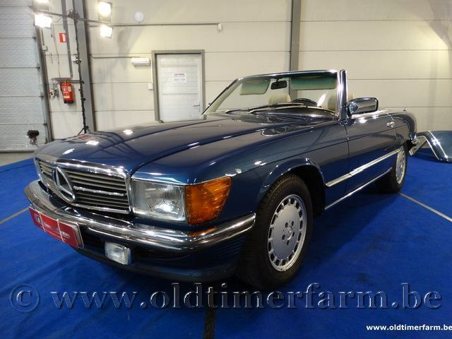Mercedes-Benz  300SL Blue '87  (1987)