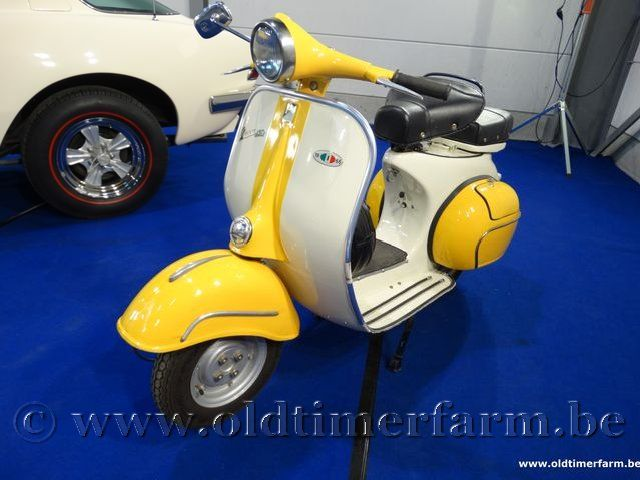 Vespa  150cc Yellow/White