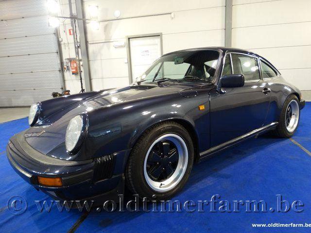 Porsche 911 3.2 Carrera Blue