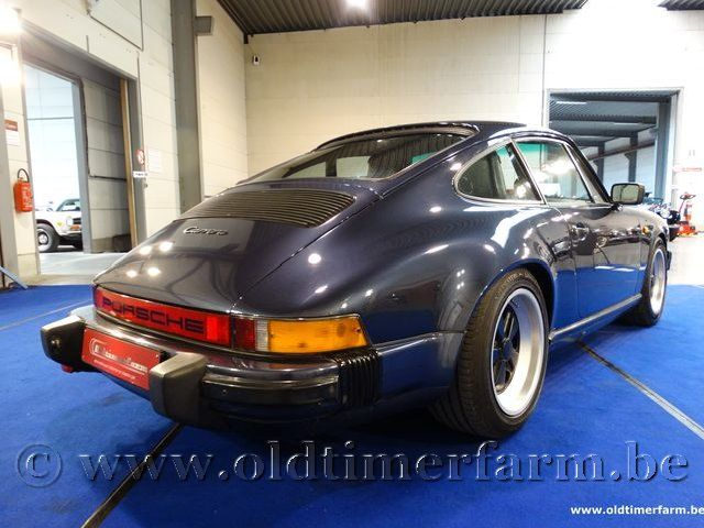 Porsche 911 3.2 Carrera Blue '85  (1985)