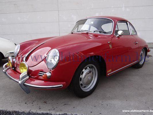 Porsche 356 C Coupé Red